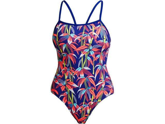 Funkita Single Strap One Piece Swimsuit Women, bambamboo